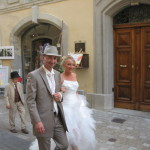 Uzes Wedding Procession
